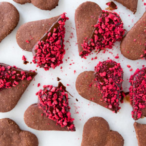 Galletas de Chocolate para San Valentin