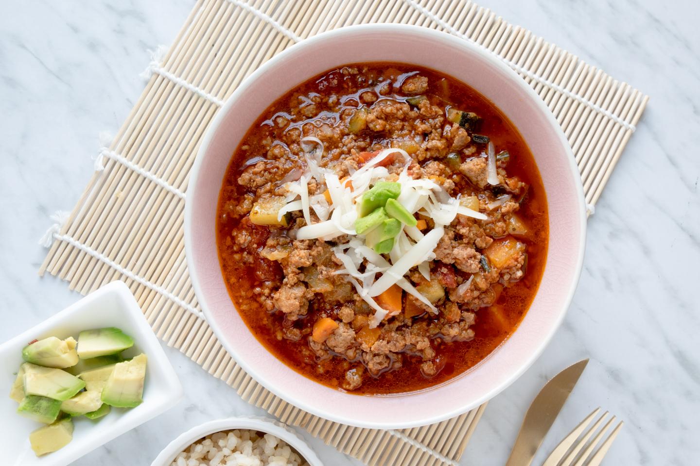Resultado de imagen para Chili de quinoa y batata